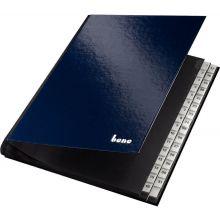 BENE Pultordner Premium 85514 A4 1-31 31-teilig dunkelblau