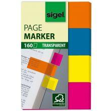 SIGEL Index HN614 50 x 20 mm 4 x 40 Blatt mehrere Farben