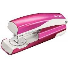 LEITZ Hefter 5502 New NeXXt WOW 30 Blatt aus Metall metallic pink
