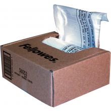 FELLOWES Abfallsäcke 100 Stück 23-28 Liter transparent