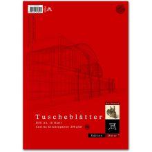 DÜRER Tuscheblatt 10 Blatt A4 200 g/m²