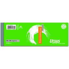 URSUS Eintrittskarte 145 x 50 mm 100 Blatt ziegelrot