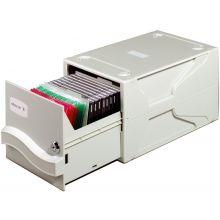 DURABLE Multimedia-Aufbewahrungsbox 5256 grau