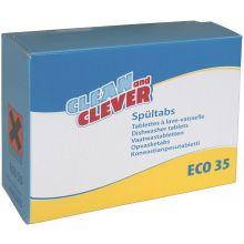 CLEAN & CLEVER Geschirrspültabs 60 Stück 18 g