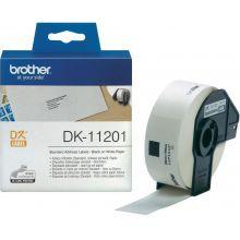 BROTHER Adress-Etiketten 400 Stück 29 x 90 mm weiß