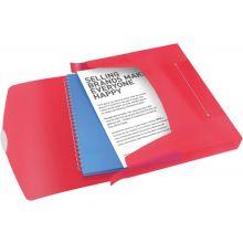 ESSELTE Ablagebox 6240 Vivida A4 PP rot