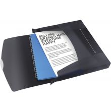 ESSELTE Ablagebox 6240 Vivida A4 PP schwarz