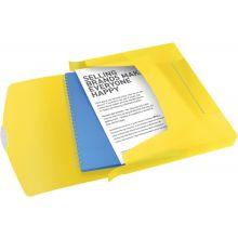ESSELTE Ablagebox 6240 Vivida A4 PP gelb