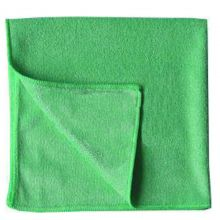 CLEAN & CLEVER Microfasertuch 40 x 40 cm grün