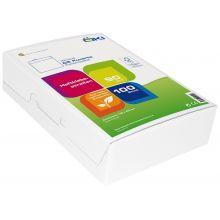 ÖKI Kuvert Classic C5-ÖF/CLA90BOX 100 Stück DIN C5 mit Haftstreifen ohne Fenster 90g/m² weiß