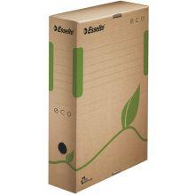 ESSELTE Archivbox 623916 Eco 8 cm naturbraun