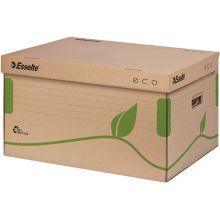 ESSELTE Archiv-Container 623918 Eco mit Deckel naturbraun