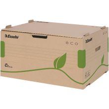 ESSELTE Archiv-Container 623919 Eco mit Frontdeckel naturbraun