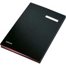 ESSELTE Unterschriftenmappe 6210 A4 mit 20 Fächern schwarz