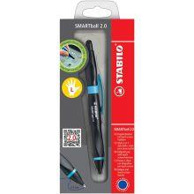 STABILO Kugelschreiber Smartball 2.0 für Linkshänder schwarz/blau