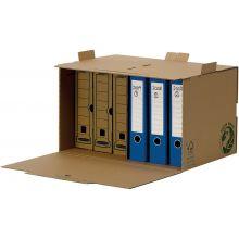 FELLOWES Stehsammler Bankers Box R-Kive 4470001 A4 aus Recyclingkarton braun