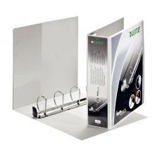 LEITZ Präsentationsingbuch Premium SoftClick 4204 DIN A4 4 Ringe 8,6 cm weiß