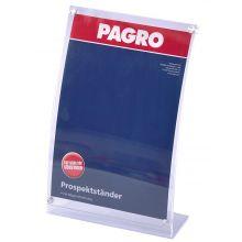 PAGRO Prospektständer A4 mit Magnetverschluss