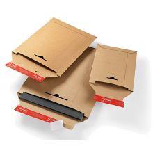 COLOM PAC Versandtasche mit Haftklebestreifen 1 Stück DIN B5 braun