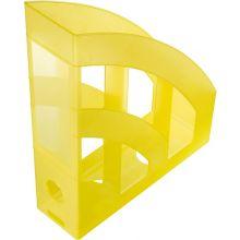 HELIT Stehsammler A4 gelb transluzent