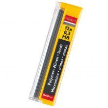 ARISTO Feinminen Hi-Polymer 12 Stück 0,35 mm HB graphit