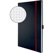 AVERY ZWECKFORM Notizbuch notizio 7029 mit Hardcover DIN A4 80 Blatt 90g/m² kariert dunkelgrau