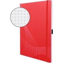 AVERY ZWECKFORM Notizbuch notizio 7043 mit Softcover DIN A4 80 Blatt 90g/m² liniert rot