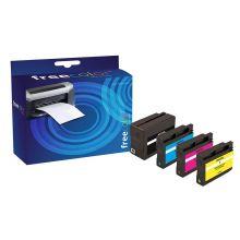 FREECOLOR Tinte Rebuilt HP 932XL/933XL Multipack