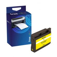 FREECOLOR Tinte Rebuilt HP CN056AE gelb