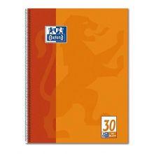 OXFORD Collegeblock A4 80 Blatt glatt orange