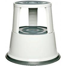 ALCO Rollhocker 895-10 Metall weiß