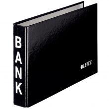 LEITZ Bankordner 14,4 x 23,3 cm schwarz