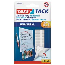 TESA Klebeknete 59405 Tack 80 Stück weiß