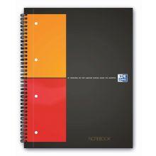 OXFORD Collegeblock Notebook A4+ 80 Blatt kariert