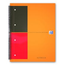 OXFORD Collegeblock Notebook A4+ 80 Blatt liniert