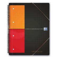 OXFORD Collegeblock Meetingbook A4+ 80 Blatt kariert
