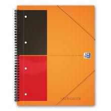 OXFORD Collegeblock Meetingbook A4+ 80 Blatt liniert