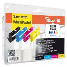 PEACH Tinte PI300-625 Rebuilt HP Nr. 934/935 Multipack farbig sortiert