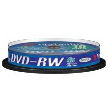 VERBATIM DVD-RW 10 Stück auf einer Spindel 4,7 GB 4-fach