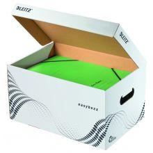 LEITZ Archiv-Container easyboxx mit Klappdeckel S weiss