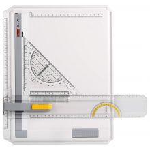 ARISTO Zeichenplatte GeoCollege im Karton A4 weiß