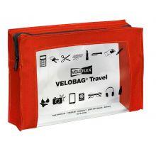 VELOFLEX Reißverschlusstasche Velobag Travel A5 rot