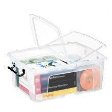 CEP Aufbewahrungsbox Strata mit Doppelklappdeckel 24 Liter transparent