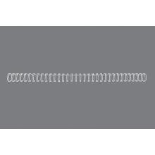 GBC Drahtbinderücken WireBind DIN A4 100 Stück 3:1-Teilung 5mm weiß