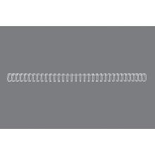 GBC Drahtbinderücken WireBind 100 Stück DIN A4 3:1-Teilung 8mm weiß