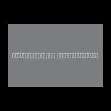 GBC Drahtbinderücken WireBind 100 Stück DIN A4 3:1-Teilung 11mm weiß
