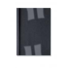 GBC Thermobindemappe LeatherGrain 100 Stück DIN A4 1,5mm schwarz