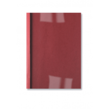 GBC Thermobindemappe LeatherGrain 100 Stück DIN A4 3mm rot