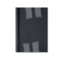 GBC Thermobindemappe LeatherGrain 100 Stück DIN A4 3mm schwarz