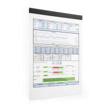 DURABLE Magnetleiste Durafix® Rail 210 x 17 mm schwarz